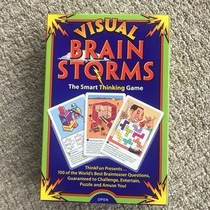 Visual Brain Storms Game